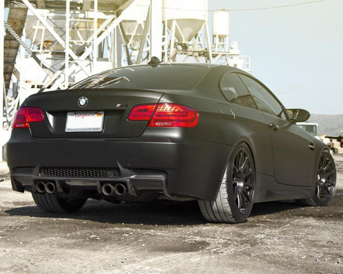 BMW M3 (E92) Black Diamond