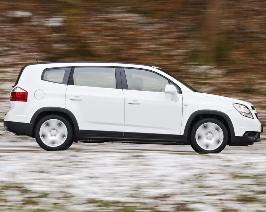 Chevrolet Orlando в России