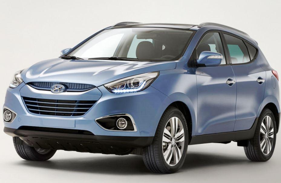 новый Hyundai ix35 2014 года