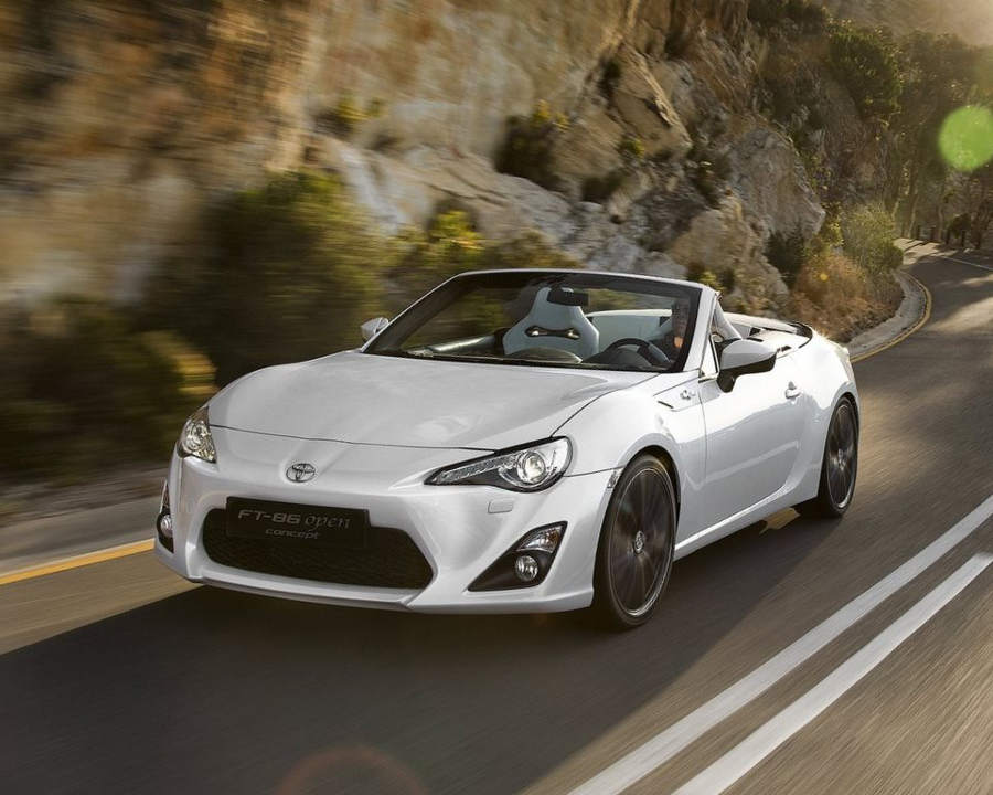 Концепт Toyota FT-86 Open 2013
