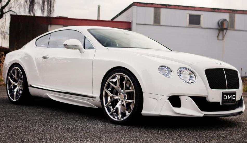 Фото тюнинга Bentley Continental GT Coupe от DMC