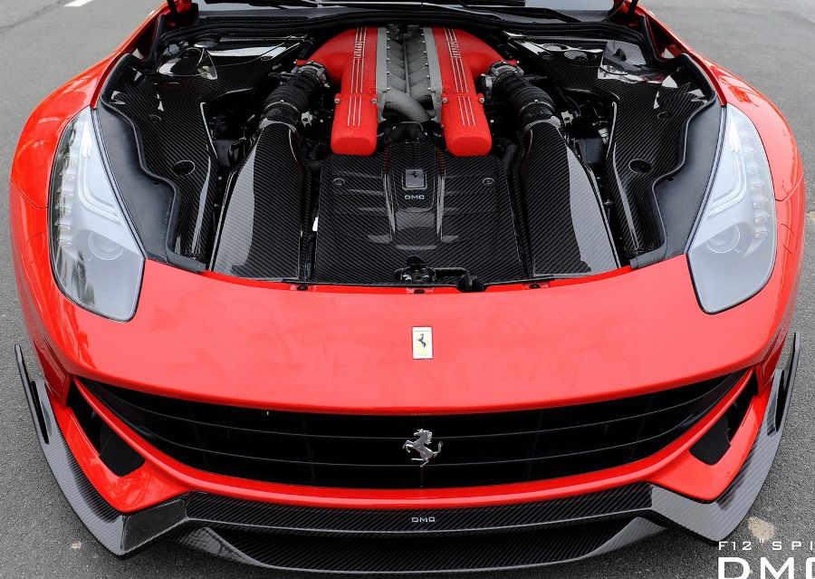 двигатель Ferrari F12 Berlinetta Spia