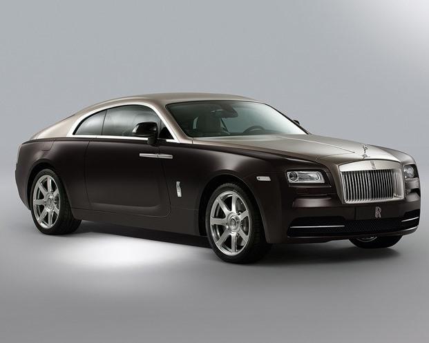 фары и бампер Rolls-Royce Wraith 2014
