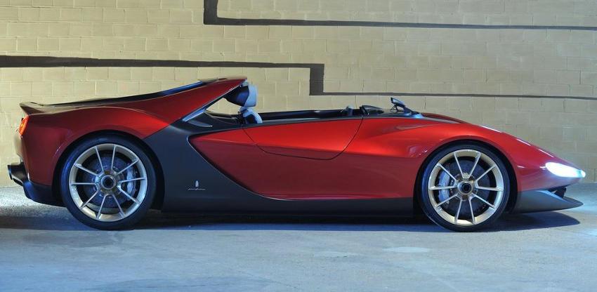 фото Ferrari Sergio 2013 сбоку