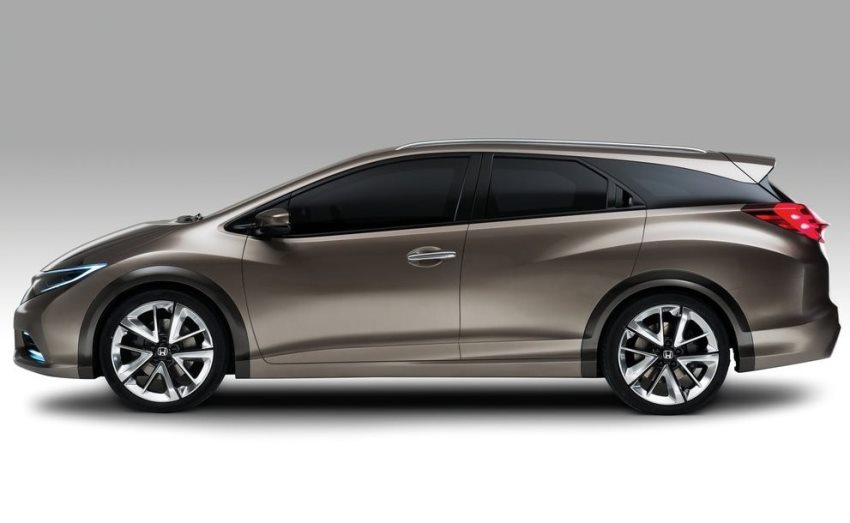 фото Honda Civic Tourer Concept 2013 сбоку