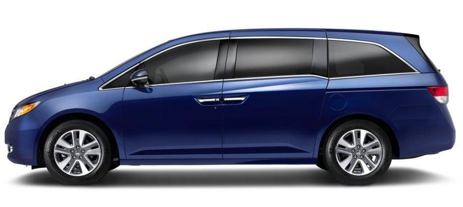 фото Honda Odyssey 2014 сбоку