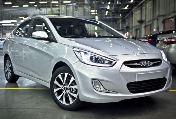 фото Hyundai Solaris 2013 года