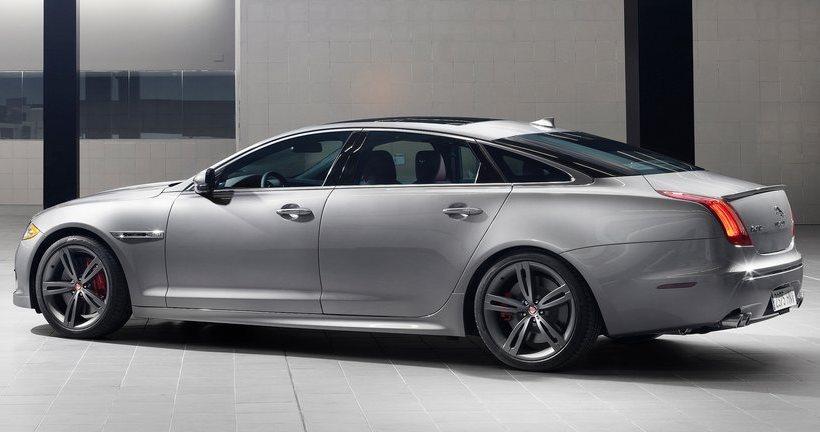 фото Jaguar XJR 2014 сбоку