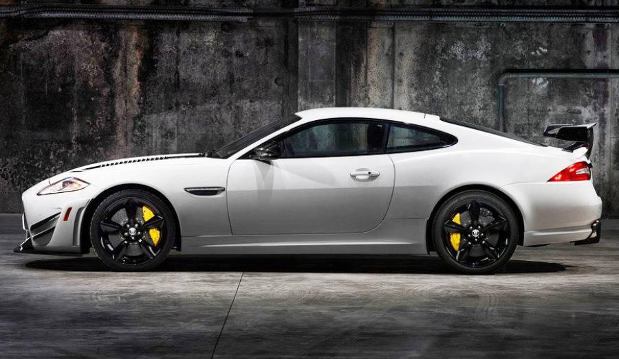 фото Jaguar XKR-S GT 2014 сбоку