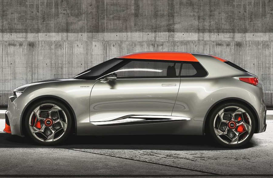фото Kia Provo Concept 2013 сбоку