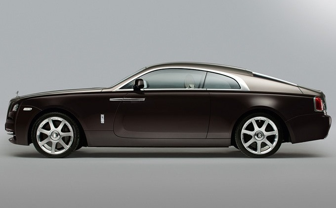 фото Rolls-Royce Wraith 2014 сбоку
