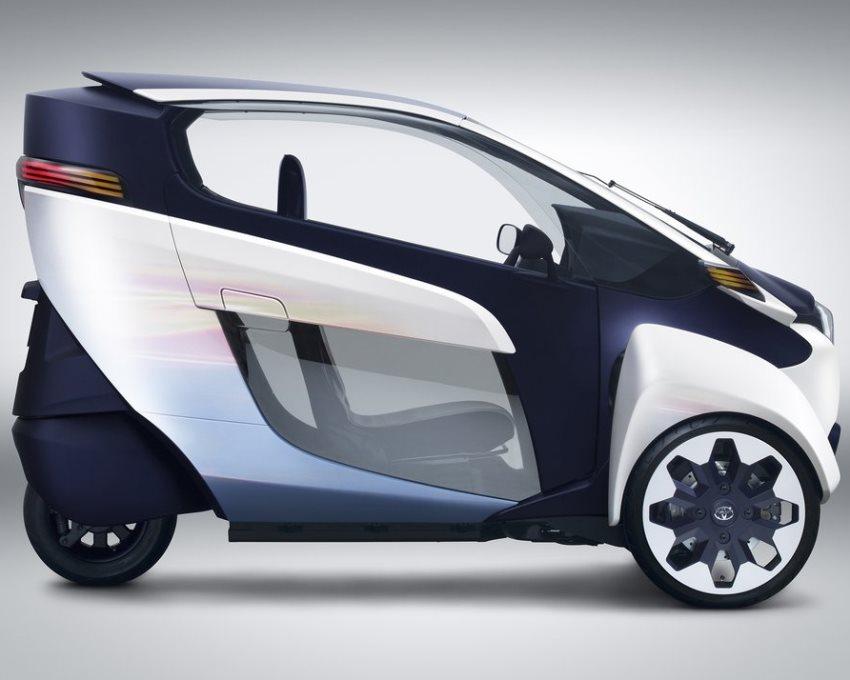 фото Toyota i-Road Concept 2013 сбоку