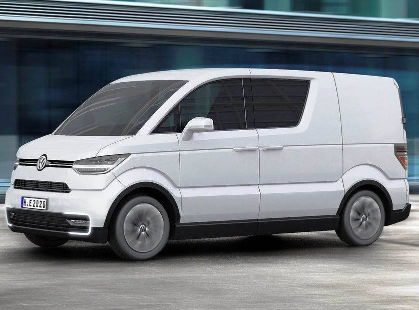 фото Volkswagen e-Co-Motion 2013 сбоку