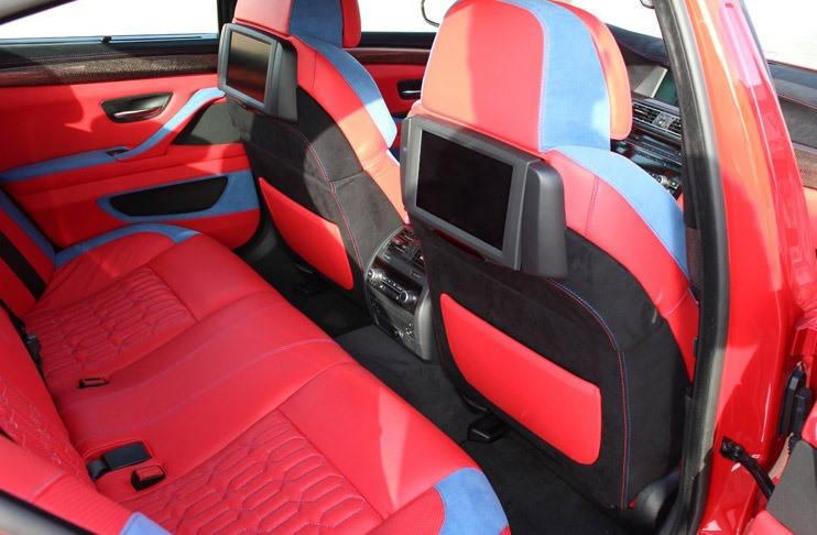 инерьер BMW M5 (F10) от Hamann