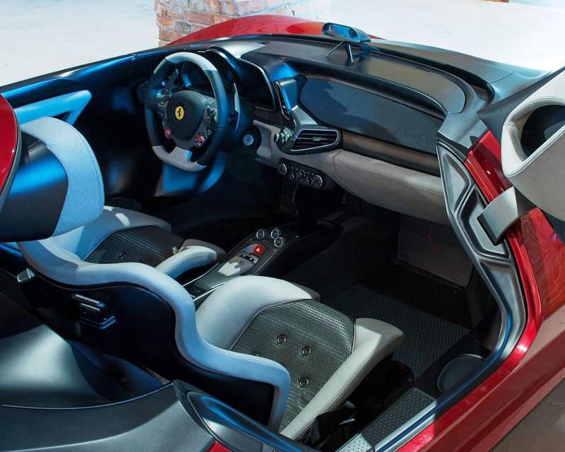 интерьер Ferrari Sergio 2013