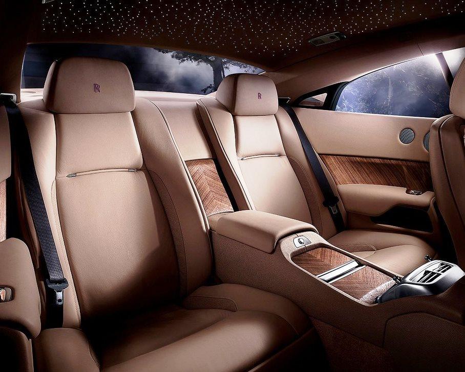 интерьер Rolls-Royce Wraith 2014
