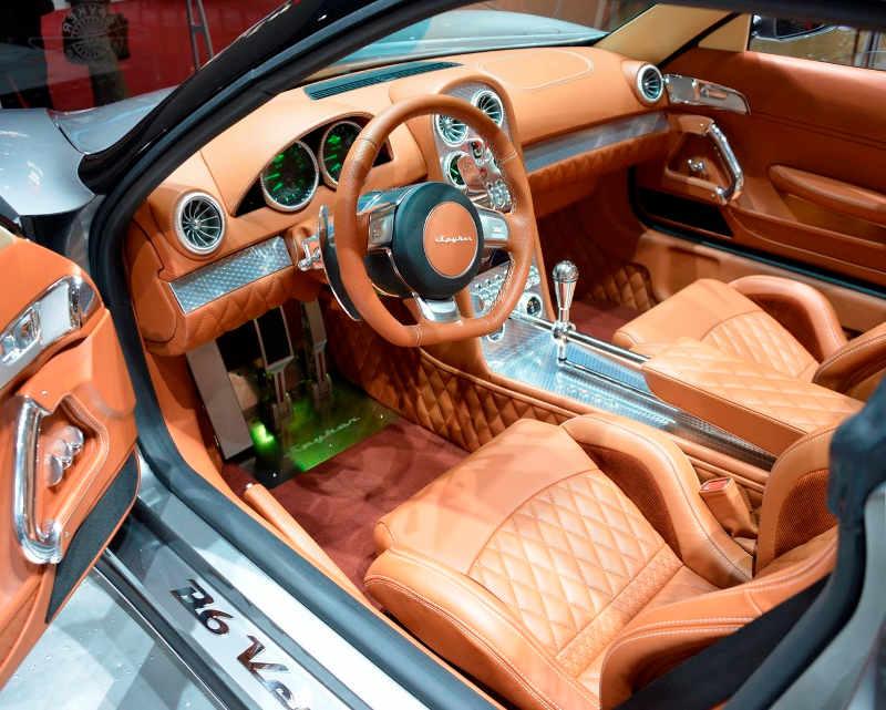 интерьер Spyker B6 Venator Concept 2013