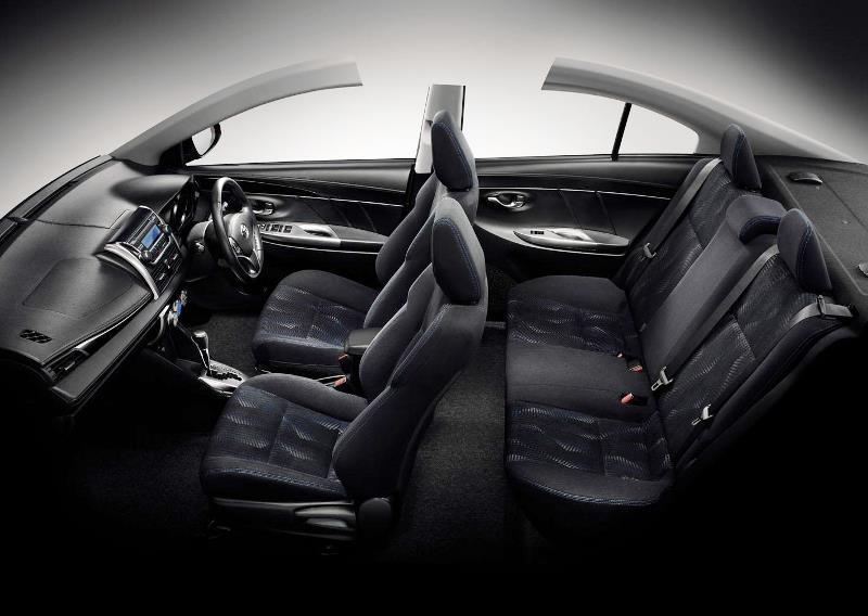 интерьер Toyota Vios 2014