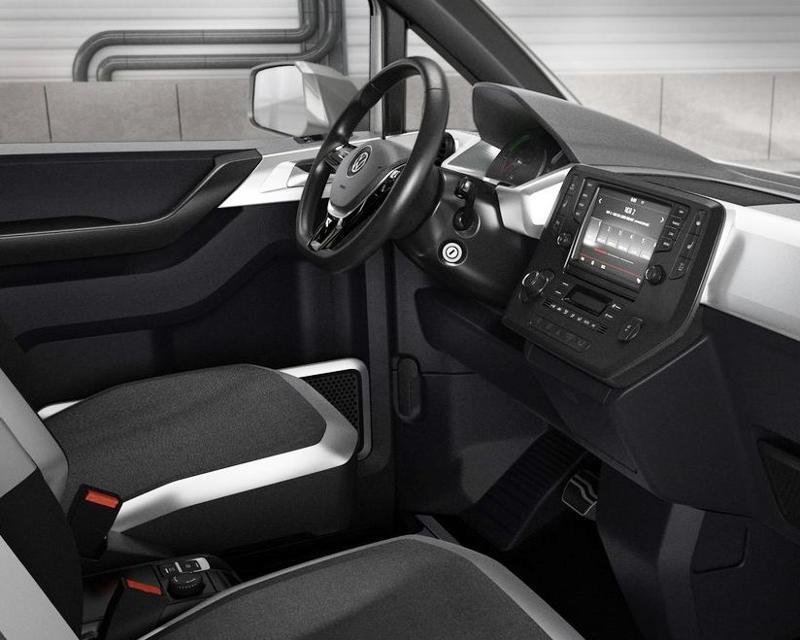 интерьер Volkswagen e-Co-Motion Concept 2013