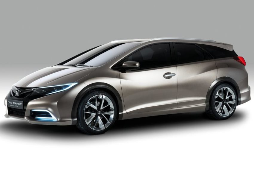 концепт Honda Civic Tourer 2013