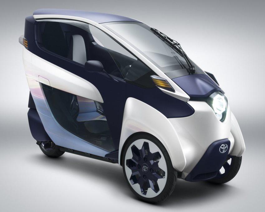 концепт Toyota i-Road 2013