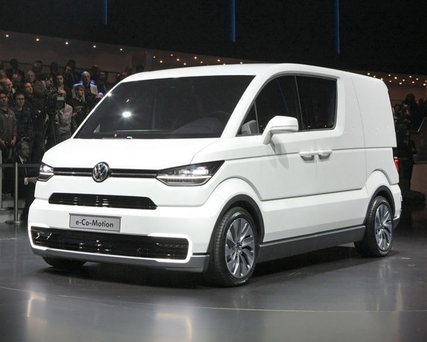 концепт Volkswagen e-Co-Motion 2013