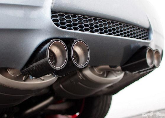 новая выхлопная система BMW M3 (E90)