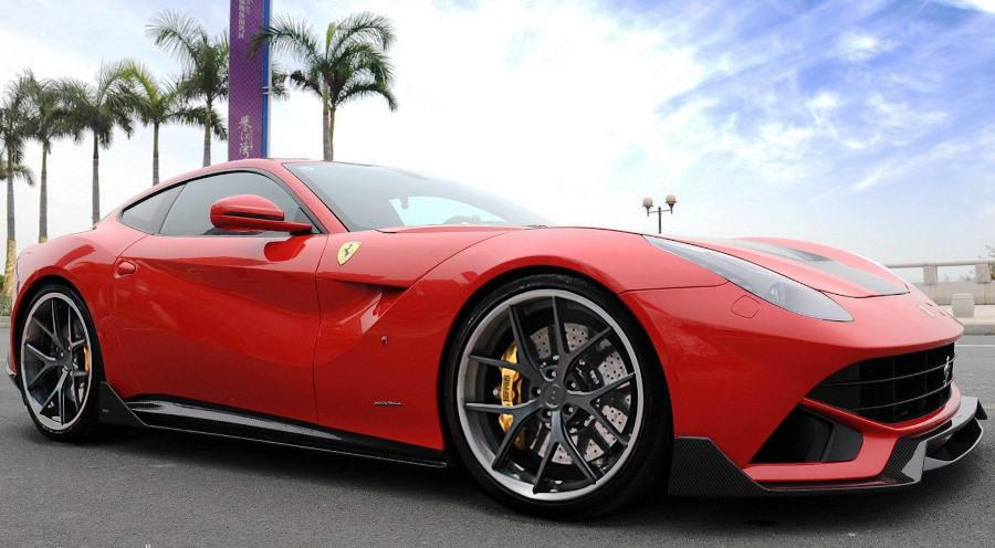 обвес Ferrari F12 Berlinetta Spia от DMC