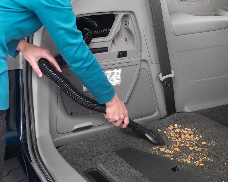 пылесос в Honda Odyssey 2014
