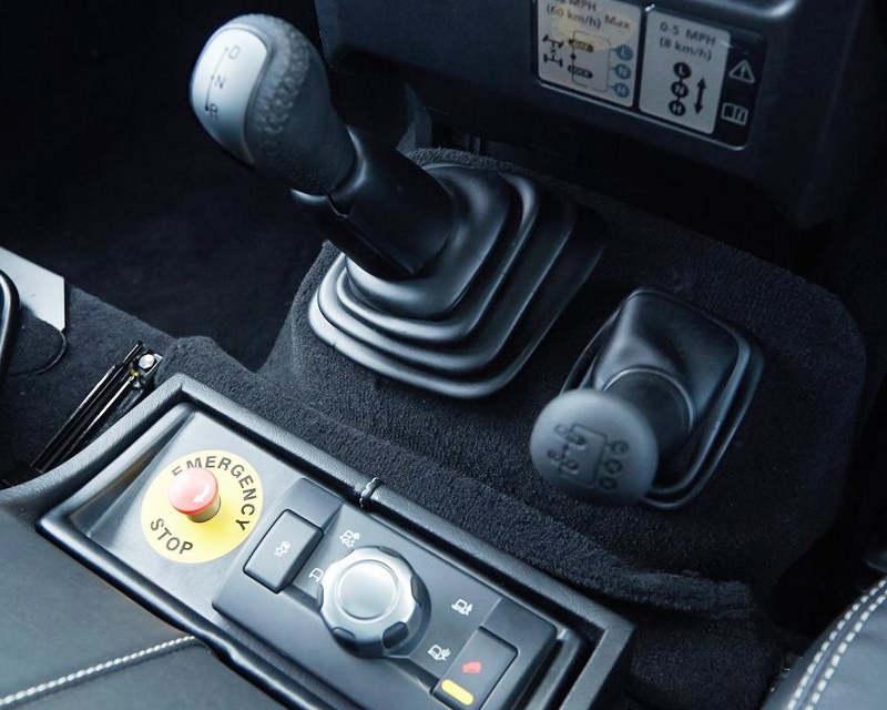 ручки переключения передач Land Rover Defender Concept 2013