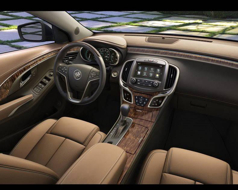 салон Buick LaCrosse 2014