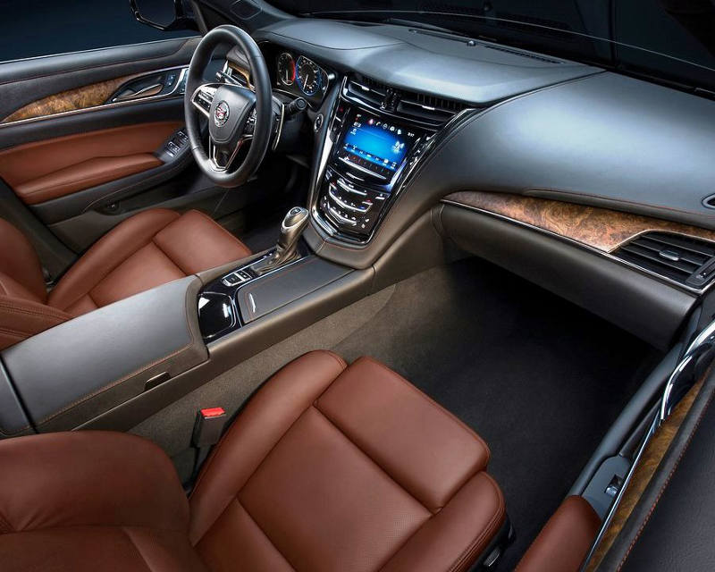 салон Cadillac CTS 2014