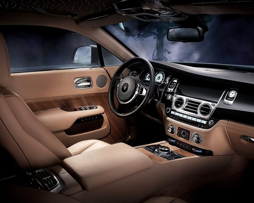 салон Rolls-Royce Wraith 2014