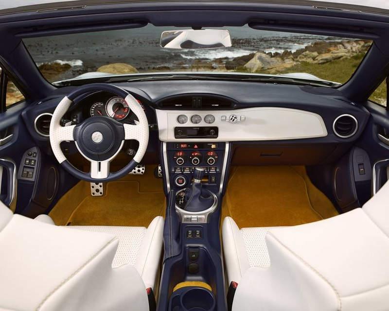салон Toyota FT-86 Open Concept 2013
