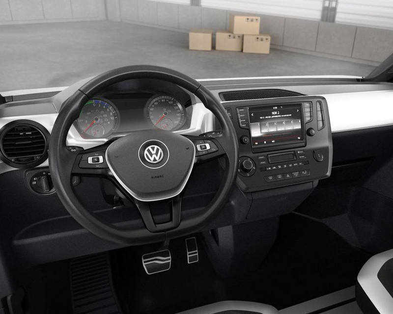 салон Volkswagen e-Co-Motion Concept 2013