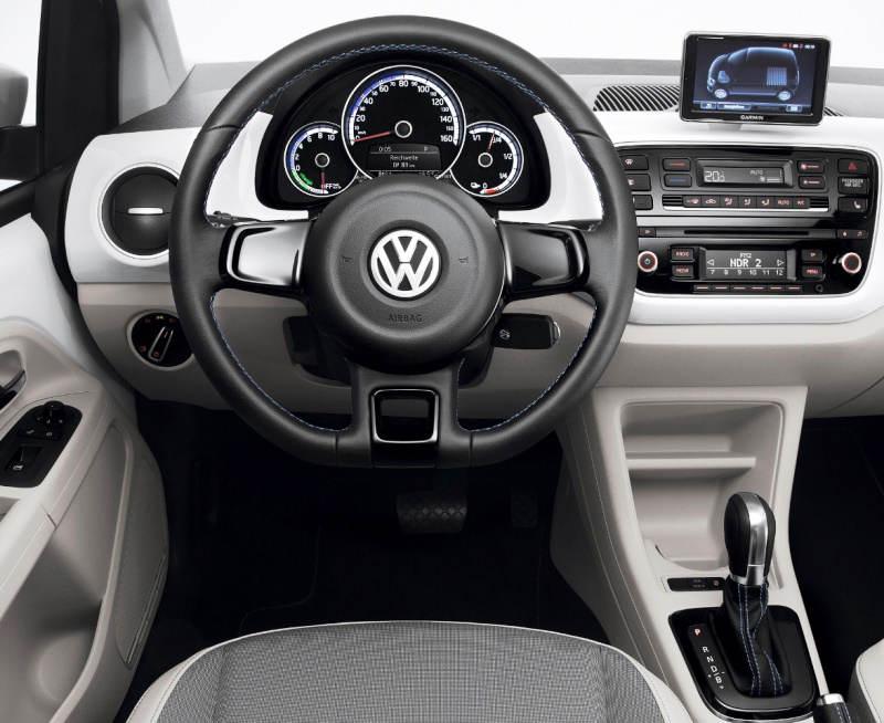 салон Volkswagen e-Up 2014