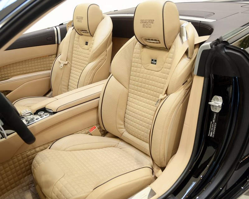 сидения Brabus 800 Roadster 2013