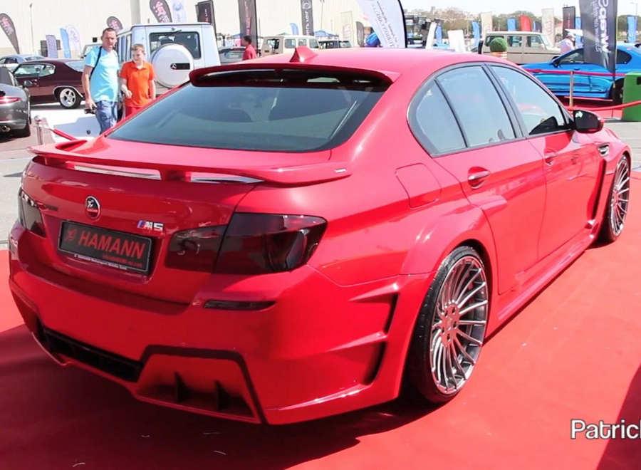 спойлер BMW M5 (F10)