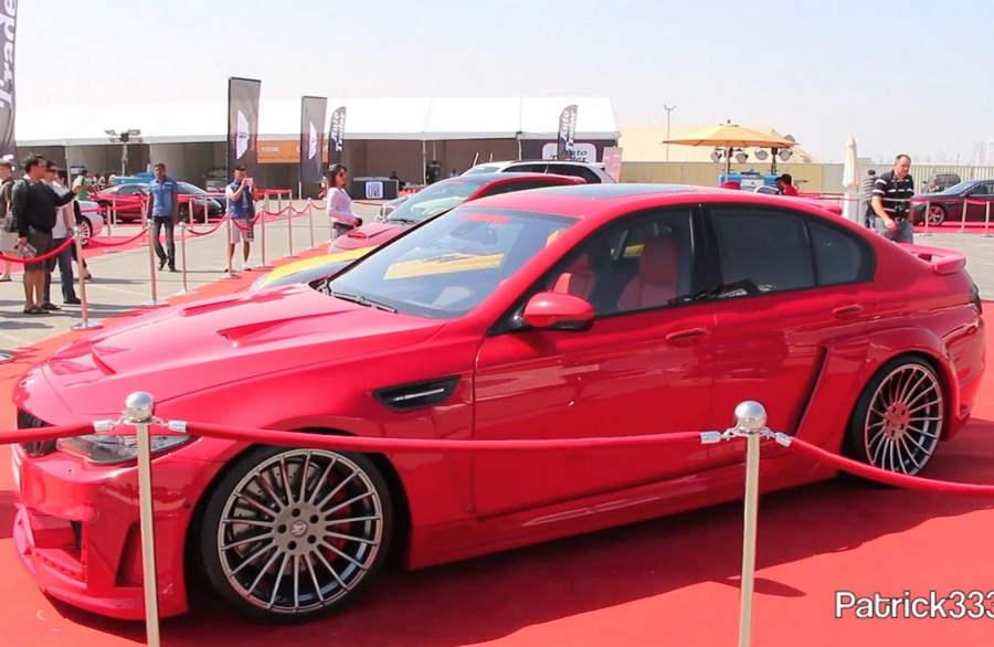 тюнинг BMW M5 (F10) фото
