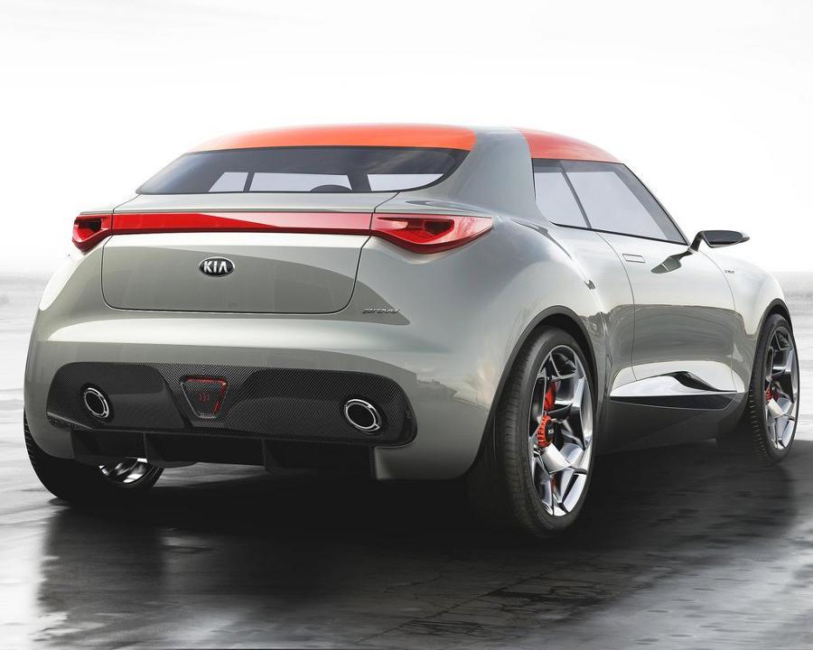 задние фонари Kia Provo Concept 2013 года