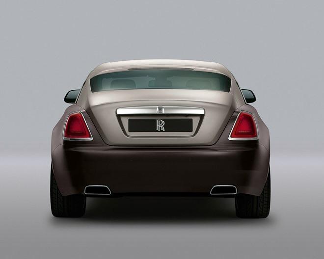 задние фонари Rolls-Royce Wraith 2014