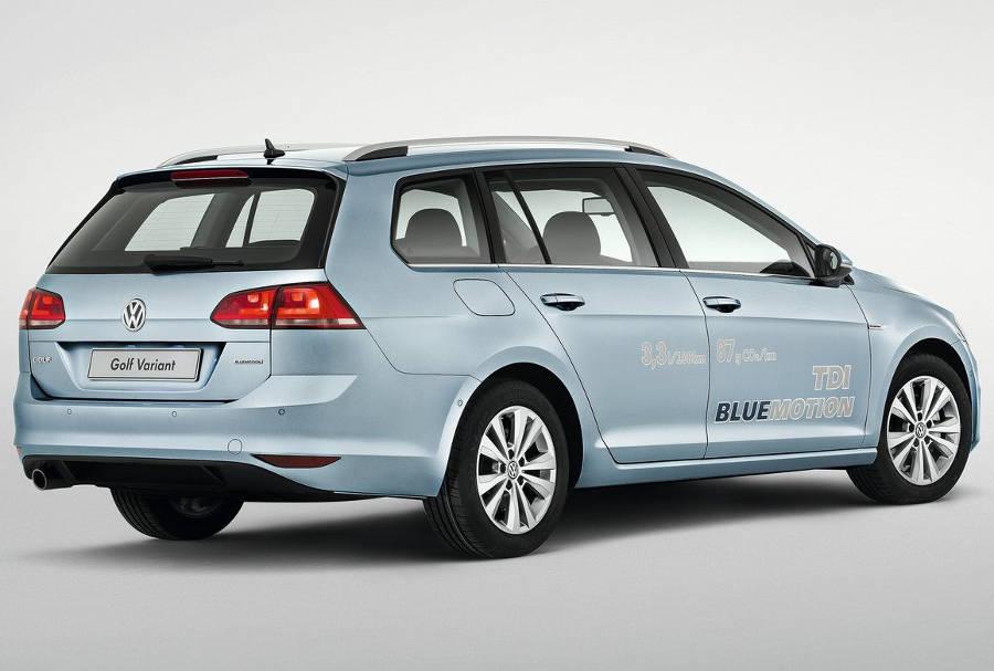 задние фонари Volkswagen Golf Variant 2014
