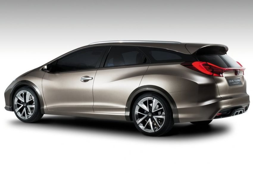 задняя часть Honda Civic Tourer Concept 2013
