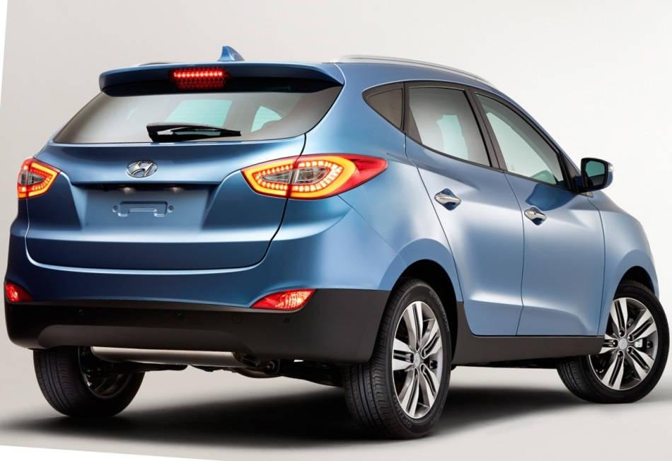 задняя часть Hyundai ix35 2014