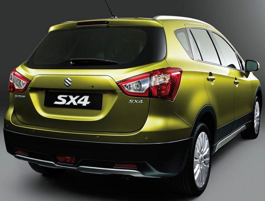 задняя часть Suzuki SX4 2014 года