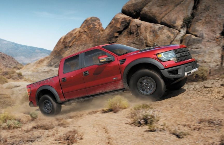 Ford F-150 SVT Raptor Special Edition фото