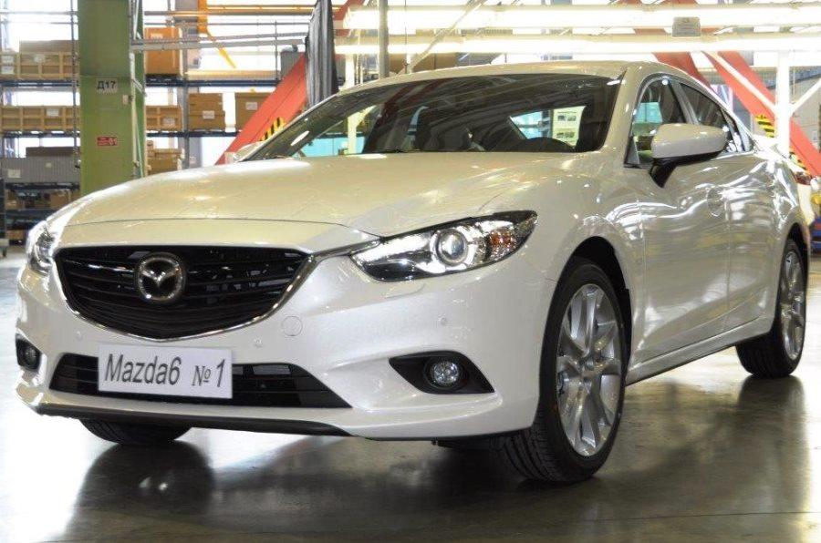 Mazda 6 2013 российского производства