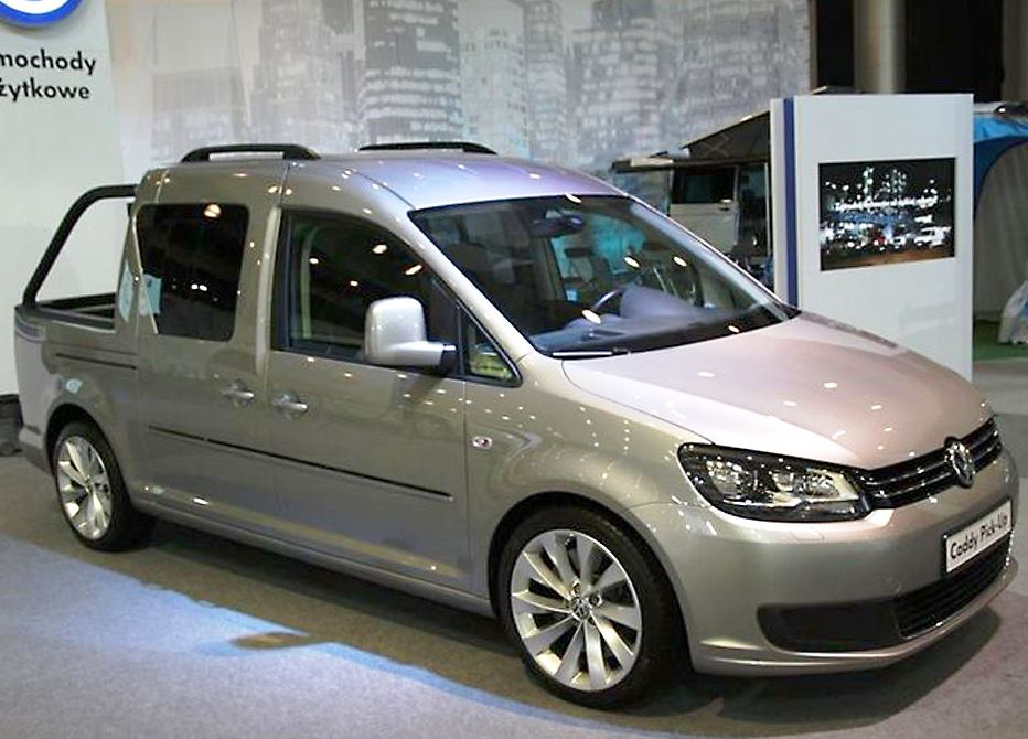 volkswagen caddy pick up concept 2013. Black Bedroom Furniture Sets. Home Design Ideas