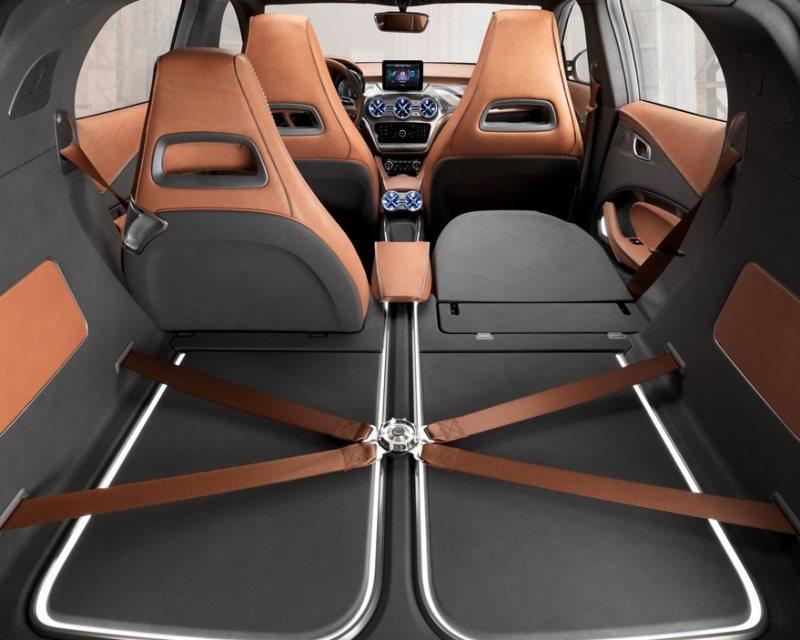 багажное отделение Mercedes GLA 2013