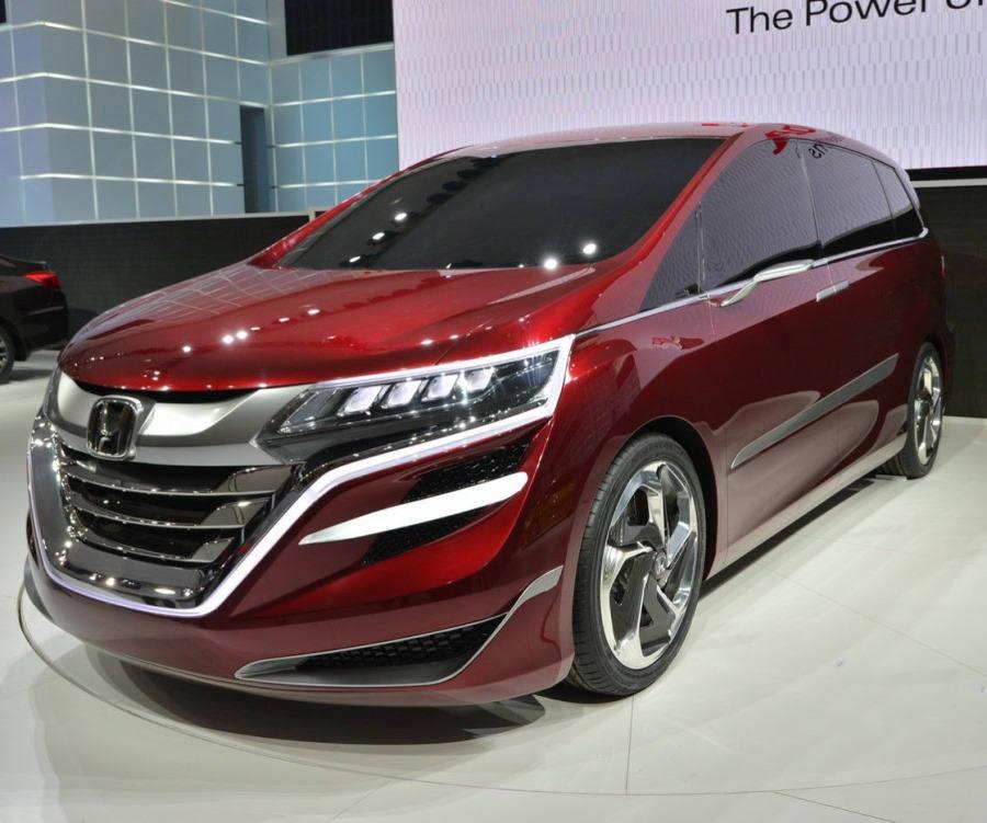фары и бампер Honda M Concept 2014